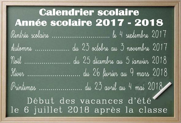 Microsoft Word - Vacances scolaires 2017.2018.doc