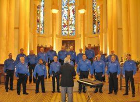 Concert de la chorale Choeur d'Hommes de Nancy