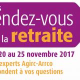 Les Rendez-vous de la retraite du 20 au 25 novembre 2017