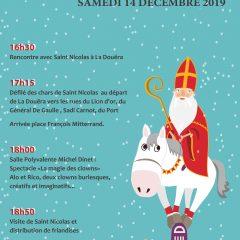 SAINT NICOLAS             Samedi 14 décembre 2019