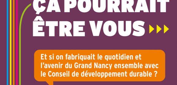 Devenez conseiller(ère) au sein du Conseil de développement durable du Grand Nancy